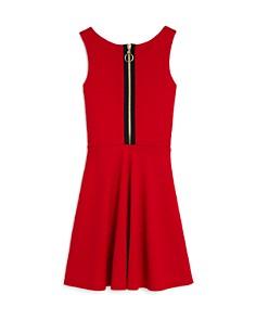 Sally Miller - Girls' Textured Scarlet Dress - Big Kid