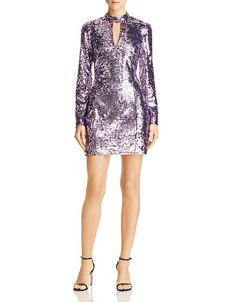 Parker - Billy Sequin Keyhole Dress