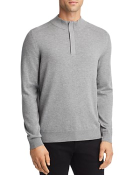 BOSS - Esilvio Quarter Zip Pullover - 100% Exclusive