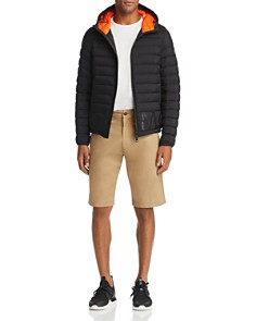 Moncler - Dreux Hooded Jacket, Maglia Tipped Tee & Bermuda Shorts