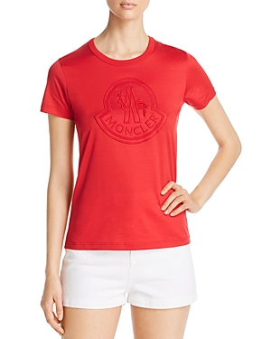 Moncler Embroidered Logo Tee