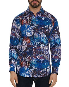 Robert Graham - Mayar Floral-Paisley Classic Fit Button-Down Shirt