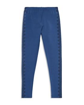 Ralph Lauren - Girls' Embroidered Jersey Leggings - Big Kid