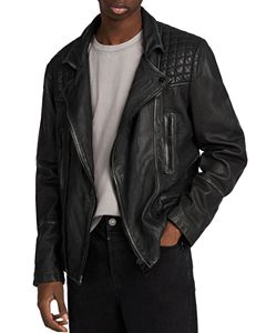 5146a581b ALLSAINTS Conroy Leather Biker Jacket | Bloomingdale's