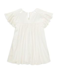 Ralph Lauren - Girls' Lace-Inset Jersey Top - Big Kid