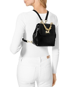 MICHAEL Michael Kors - Mott Mini Twist Chain Messenger Backpack