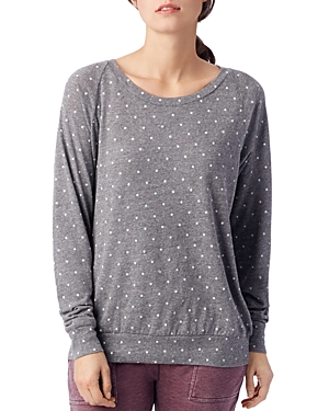 Alternative POLKA DOT SWEATSHIRT