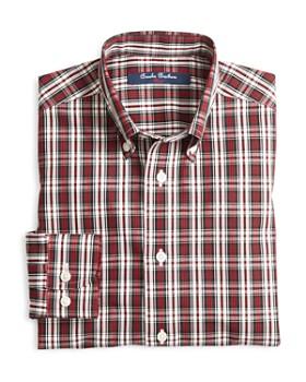 Brooks Brothers - Boys' Tartan Sport Shirt - Big Kid