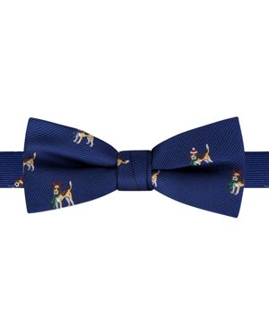 Bloomingdale's Boys Boys' Christmas Dog Bow Tie - 100% Exclusive