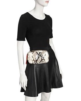 Clare V. - Python Belt Bag