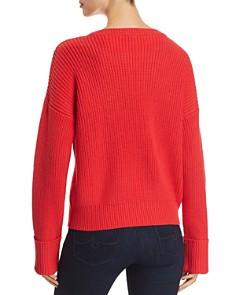 Kenneth Cole - Crewneck Shaker-Stitch Sweater