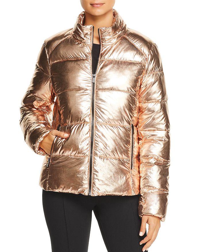 Marc New York - Metallic Puffer Jacket