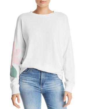 MICHELLE BY COMUNE Michelle By Comune Roseville Sweatshirt in White