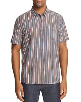 Banks Journal - Apres Striped Short-Sleeve Regular Fit Shirt