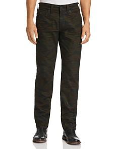 True Religion - Geno Straight Fit Jeans in Cosmic Camo