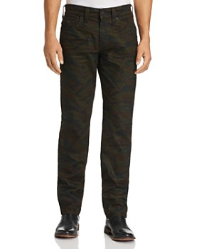 True Religion - Geno Straight Fit Jeans in Cosmic Camo