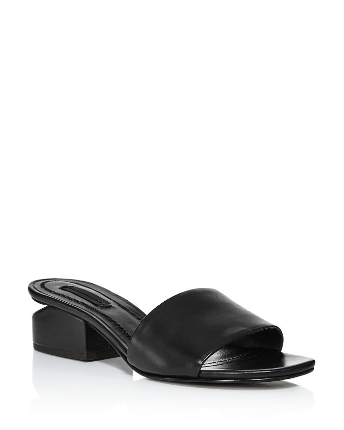 Alexander Wang - Women's Lou Leather Slides