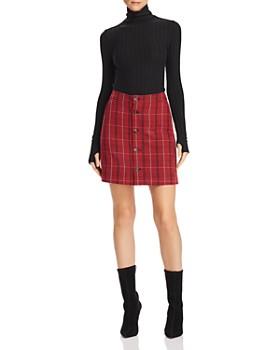 Alexander McQueen - Varsity Plaid Mini Skirt
