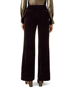 HOBBS LONDON - Harlow Velvet Wide-Leg Pants