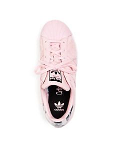 Adidas - Unisex Superstar Suede Lace-Up Sneakers - Big Kid