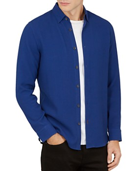 Ted Baker - Piccadi Textured Regular Fit Button-Down Shirt