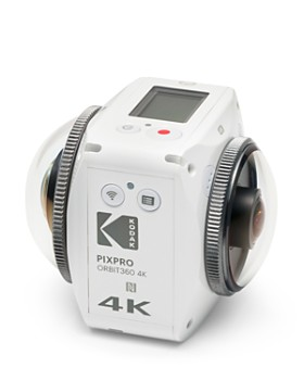 Kodak - PIXPRO Orbit360 4K VR Camera Adventure Pack