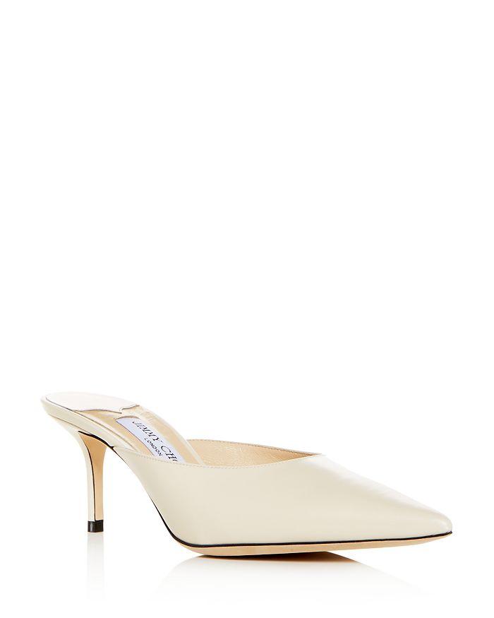 Jimmy Choo - Women's Rav 65 Pointed-Toe High-Heel Mules