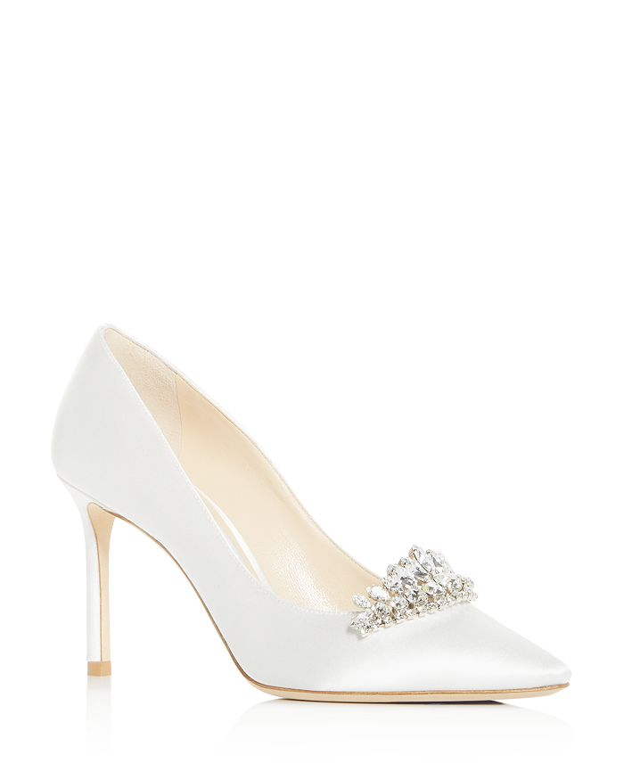 Jimmy Choo - Women's Romy 85 Embellished Pointed-Toe Pumps