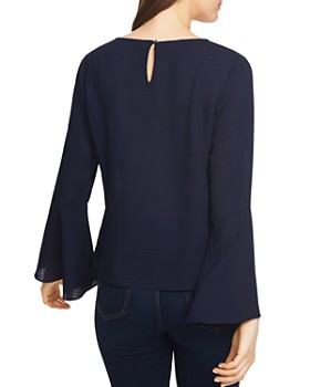 1.STATE - Bell Sleeve Tie-Front Top