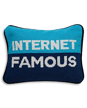 "Jonathan Adler - Internet Famous Decorative Pillow, 9"" x 12"""