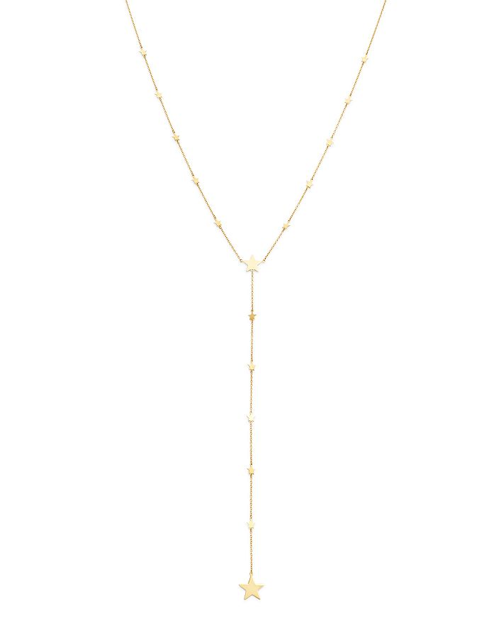 """Moon & Meadow - Star Y Necklace in 14K Yellow Gold, 17"""" - 100% Exclusive"""