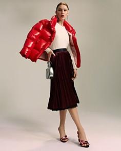 Le Gali - Joanie Velvet Pleated Skirt - 100% Exclusive