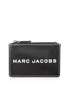 MARC JACOBS - Top Zip Leather Wallet