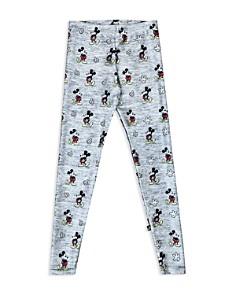 Terez - Girls' Disney x Terez Heathered Mickey Mouse Leggings - Little Kid