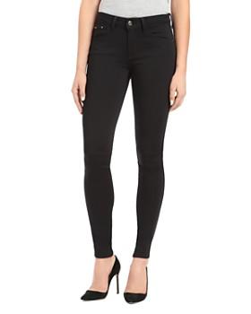 Mavi - Adriana Side-Stripe Ankle Skinny Jeans in Black