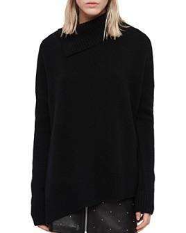ALLSAINTS - Witby Asymmetric Cashmere Sweater