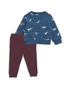 Sovereign Code - Boys' Dino-Print Sweatshirt & Moto Jogger Pants Set - Baby