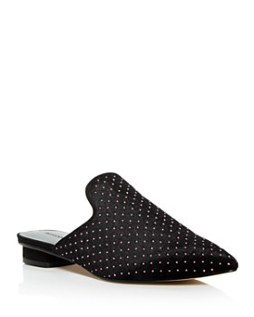 Rebecca Minkoff - Women's Chamille Studded Pointed Toe Mules