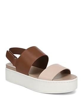 7556634b26a Vince - Women s Westport Leather Platform Sandals ...