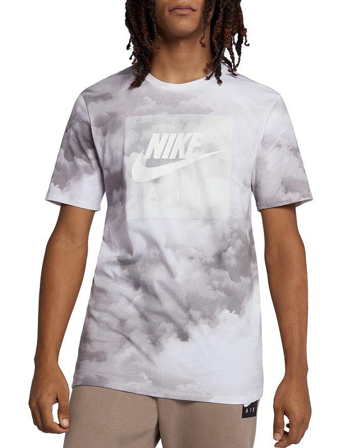 9c6aa42502db Nike - Cloud-Print Air Logo Graphic Tee