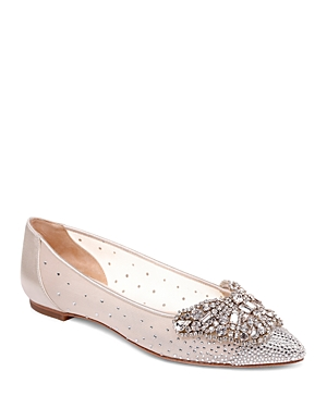 Women's Quinn Crystal Embellished Pointed Toe Flats