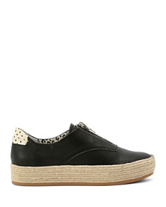 Dolce Vita - Women's Trae Leather Platform Sneakers