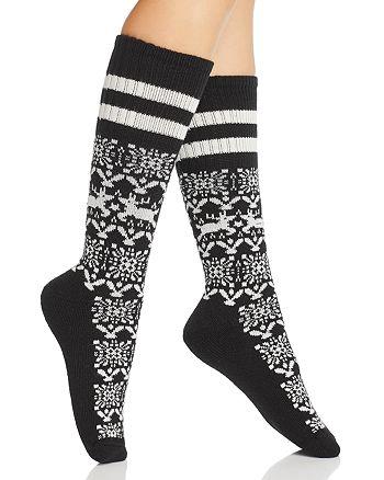HUE - Cowgirl Boot Socks