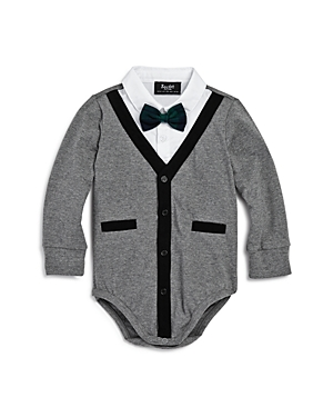 Bardot Junior Boys Cardigan BowTie Bodysuit  Baby