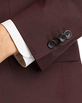 BOSS - Huge/Genius Semi-Solid Slim Fit Wool Suit