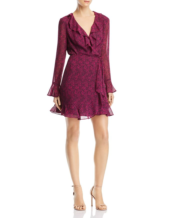 WAYF - Maddie Mini Wrap Dress - 100% Exclusive