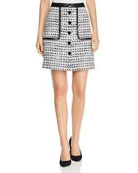 KARL LAGERFELD Paris - Tweed Skirt
