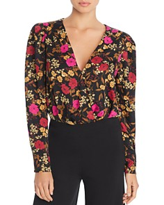 ASTR the Label - Blondie Floral Print Bodysuit