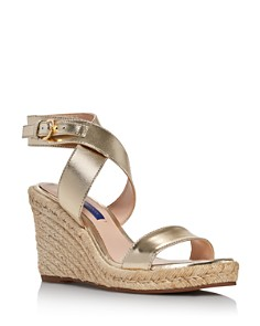 Stuart Weitzman - Women's Lexia Espadrille Wedge Sandals
