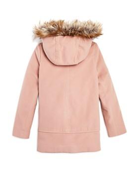 AQUA - Girls' Coat with Faux-Fur Trim, Big Kid - 100% Exclusive